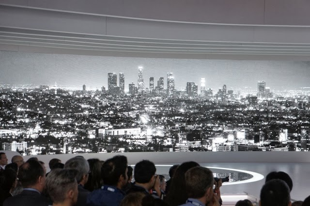 Notes from the edje the visual and design explosion that for Kia motors downtown la