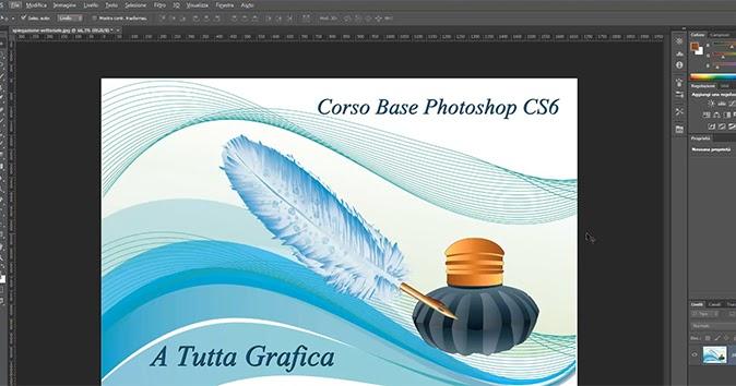 Corso di Photoshop CS6 - Pixel e Vettori - Lezione 8