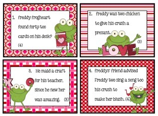http://www.teacherspayteachers.com/Product/Fix-the-Mistakes-Around-the-Room-Valetines-Day-Frog-Edition-Editing-made-fun-1039423