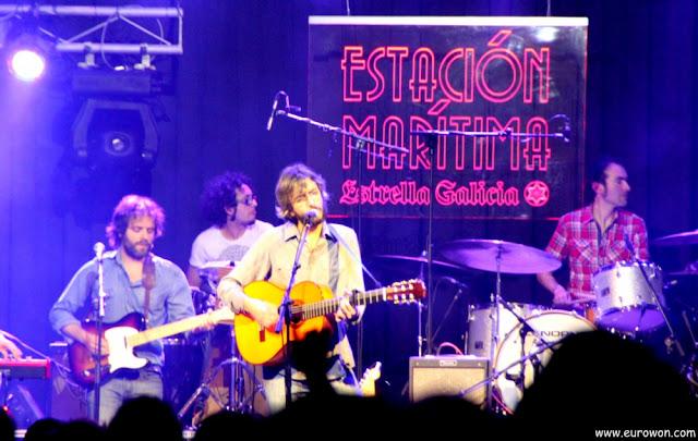 Xoel López en concierto