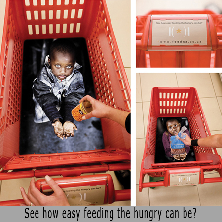 See how easy feeding the hungry can be?