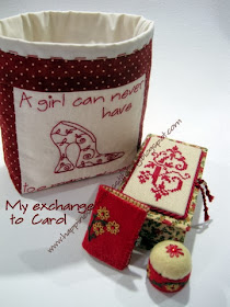 My Exchange To Carol from Stitching Dreams