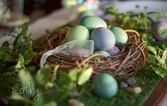 Simple Easter Tablescape & Free Printable!