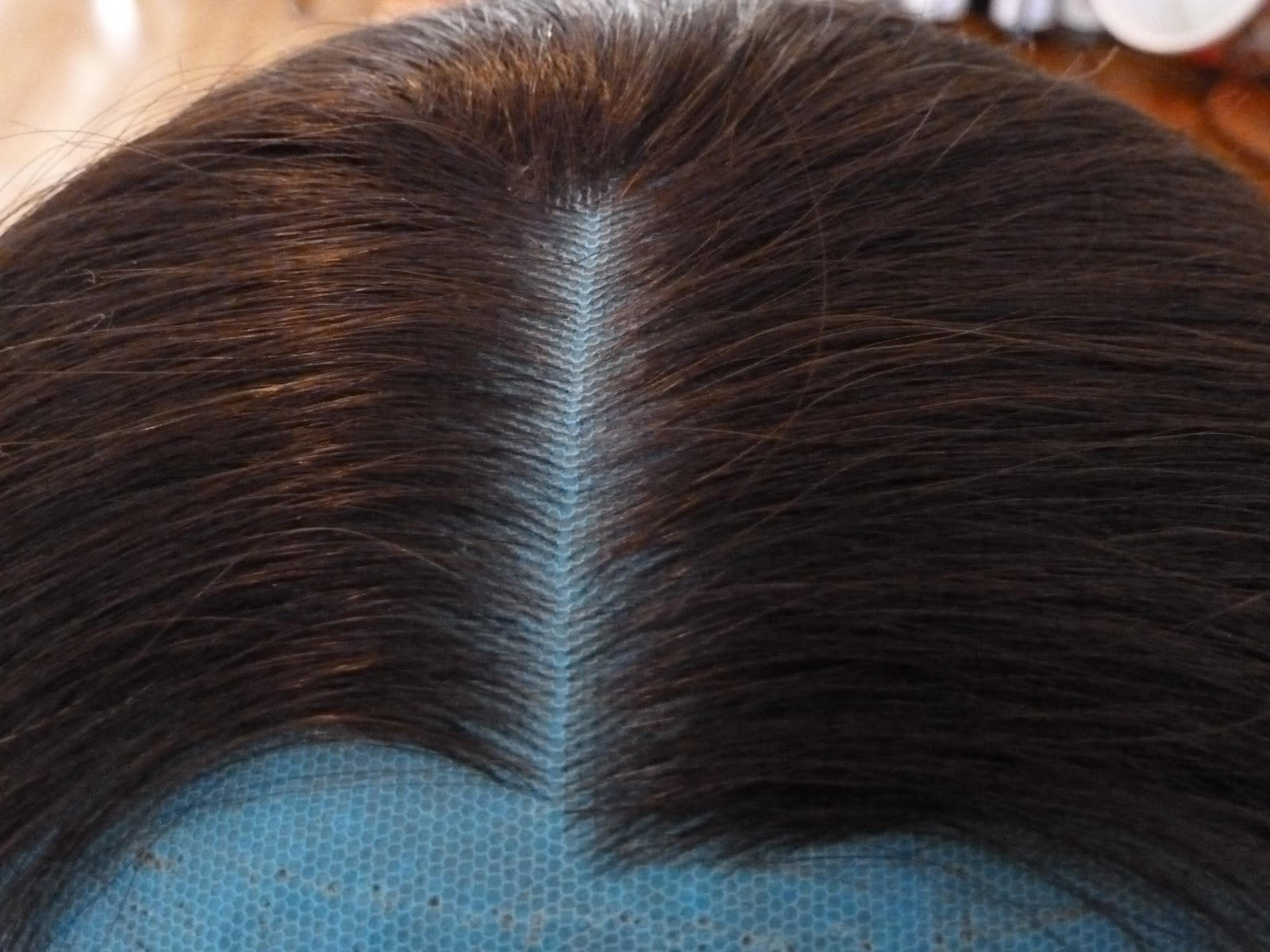 how to take shine out of synthetic wigs