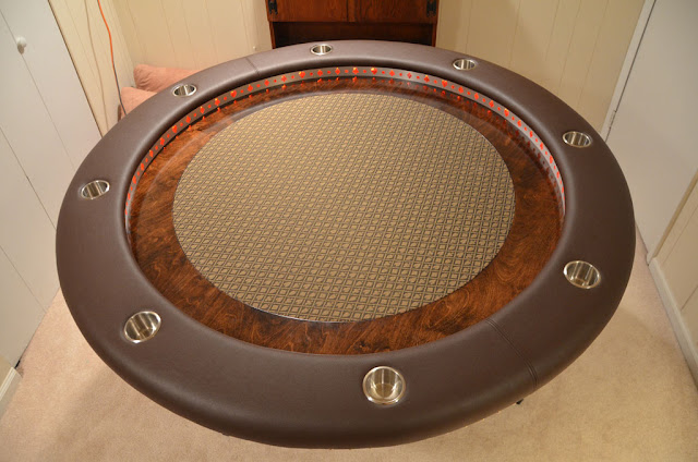 Custom Built Poker Table Seen On www.coolpicturegallery.us
