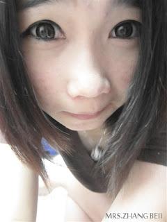 我喜歡這個眼妝 :D