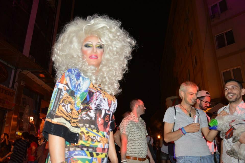 3ο gay pride στη Θεσσαλονίκη.