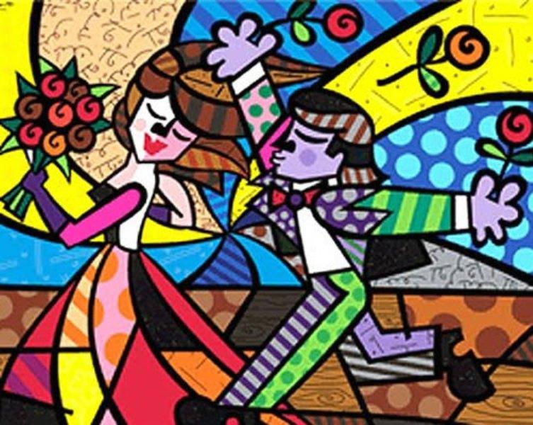 Romero Britto Pintor de Brasil