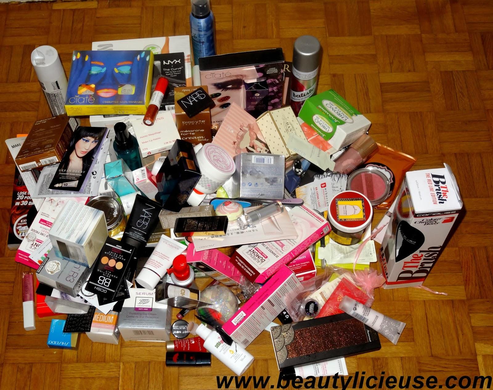 concours la beautylicieuse box de no l soit 2000 de produits de beaut gagner. Black Bedroom Furniture Sets. Home Design Ideas