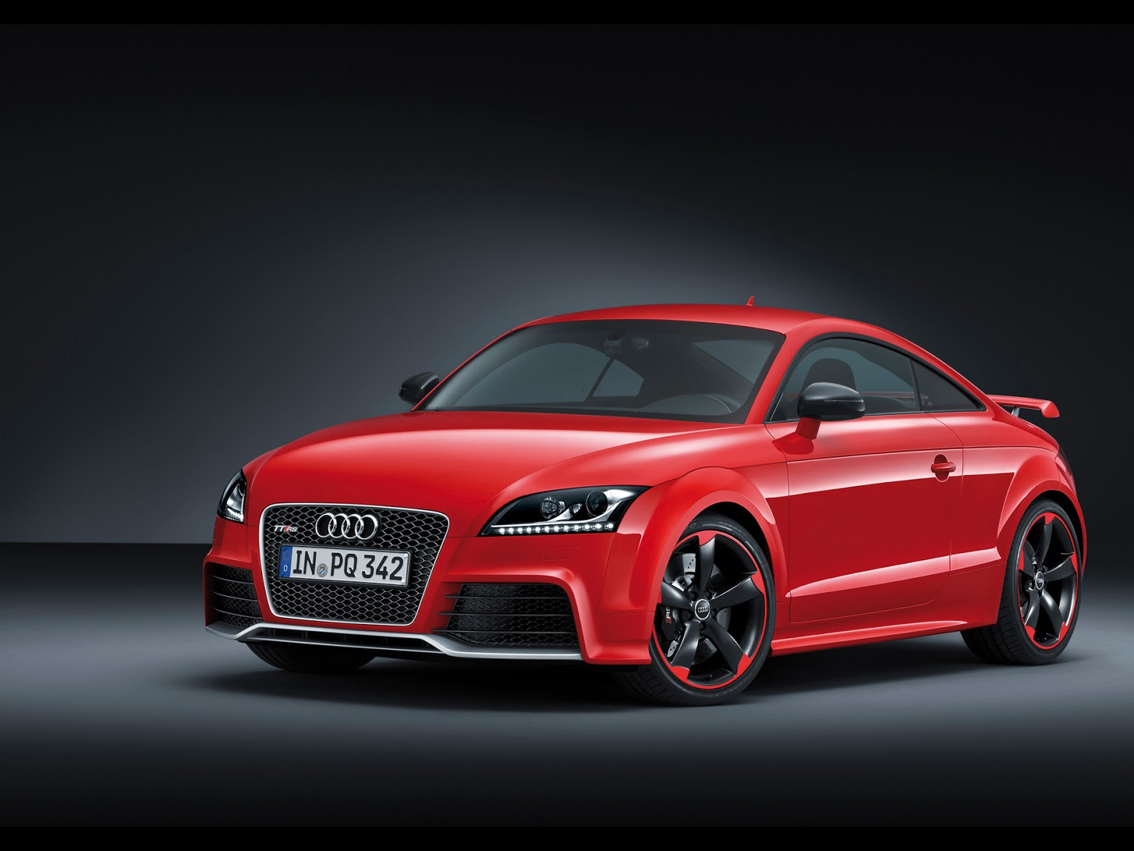 audi tt rs red wallpapers wallpaper free 3979. Black Bedroom Furniture Sets. Home Design Ideas