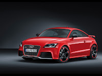 Audi TT-RS Red