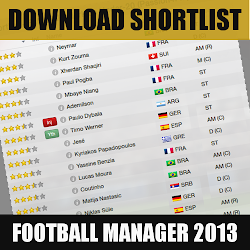 Download Football Manager 2013 Shortlist