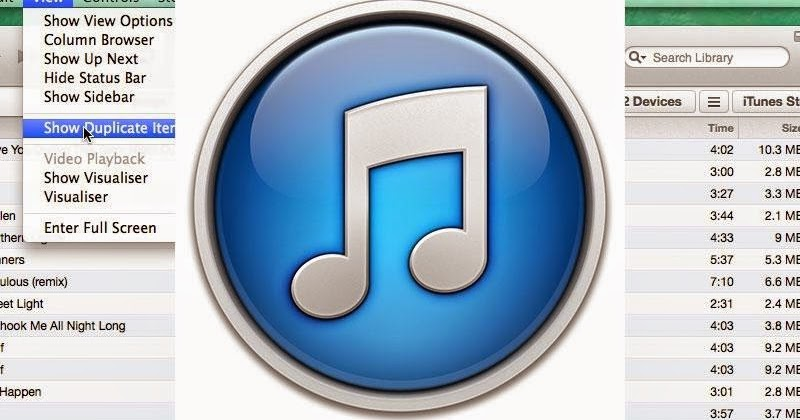 how to delete music from itunes library