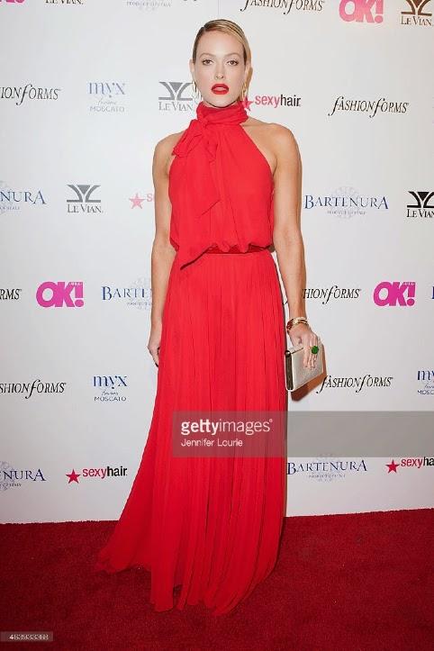Peta Murgatroyd Red Carpet Dress