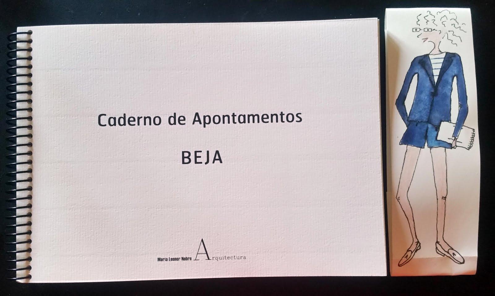 'Cadernos de Apontamentos Beja' - Maria Leonor Nobre