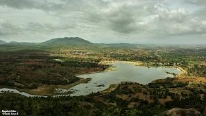 Lake near Makalidurga hill