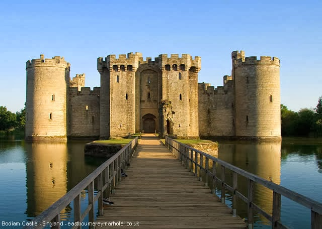 Castelo Bodiam Castle - East Sussex, Inglaterra