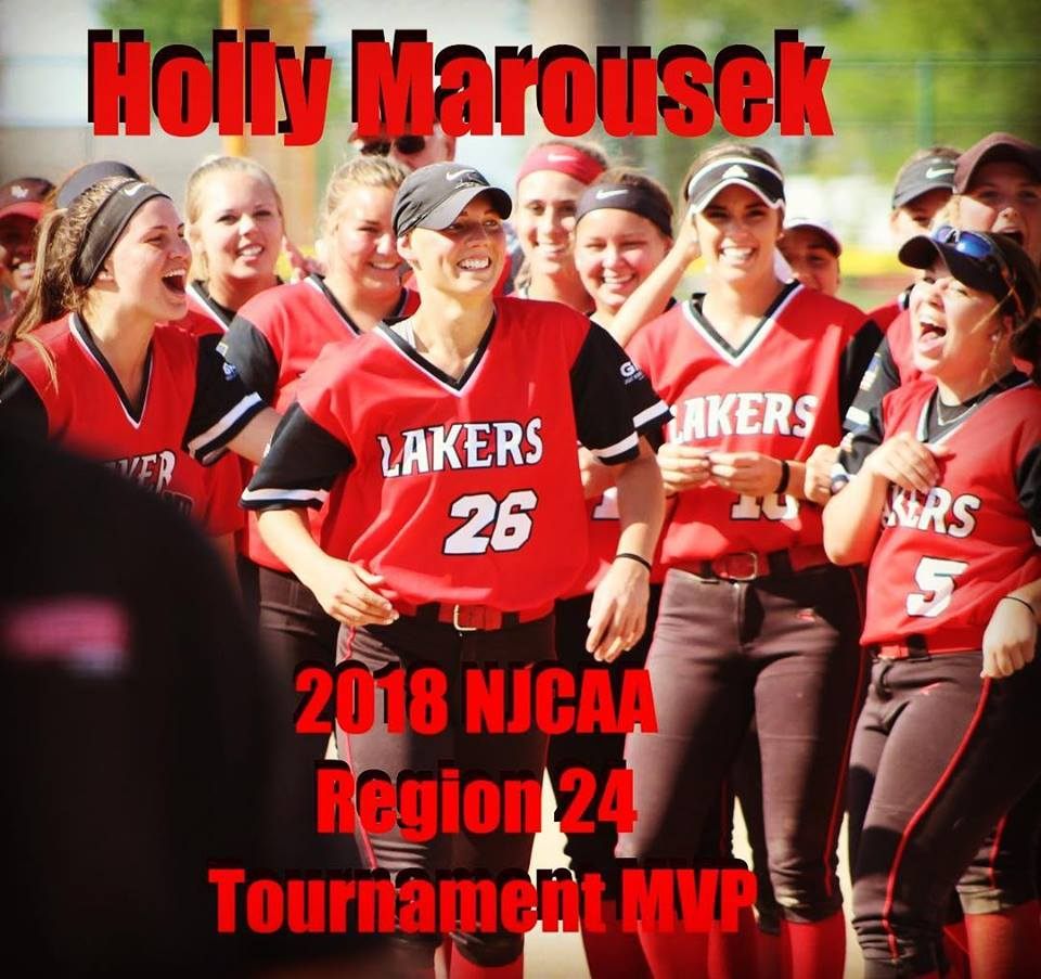 Holly Marousek - 2018 NJCAA Region 24 Tournament MVP