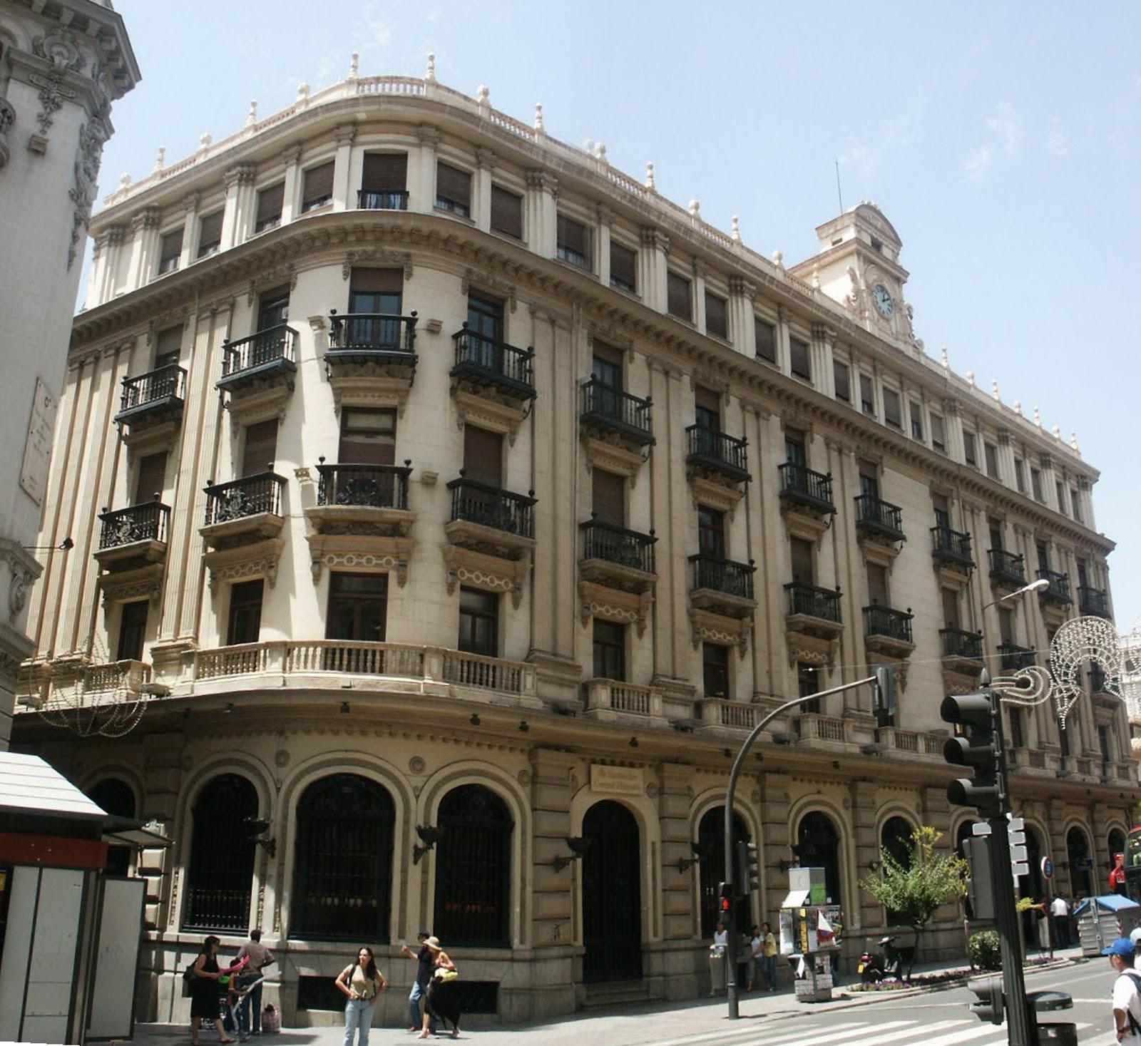 Edificios del siglo xx estampas y rincones granadinos for Arquitectura eclectica