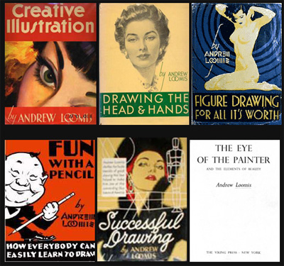 Libros Andrew Loomis Español (para dibujar)