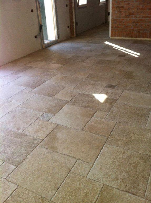 Pavimentazioni interne gabbatore mattia - Posa piastrelle diagonale ...
