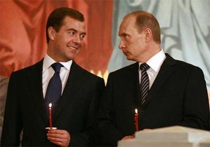Khi Putin và Medvedev không cùng nhìn về một hướng...