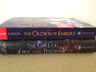 crown of embers arc girl of fire and thorns rae carson giveaway