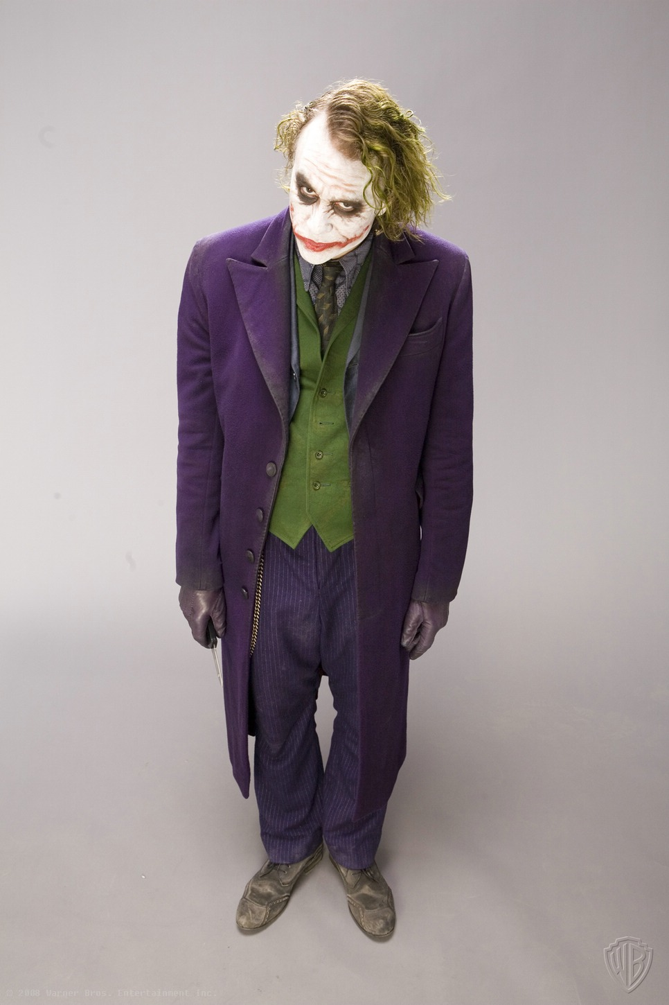 The Joker (Heath Ledger) un-Relesed Promo photos set 3