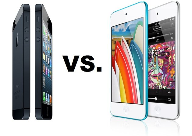 Apple iPod Touch vs iPhone 5 Specs Review