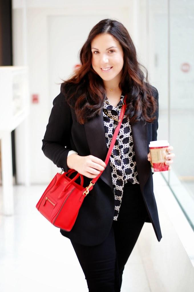 Isabel Marant pour H&M blazer and Celine Nano
