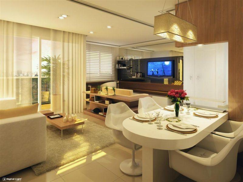 Sala De Estar E Tv No Mesmo Ambiente ~ Ademimóveis Imobiliária Sala de jantar e estar, no mesmo ambiente?