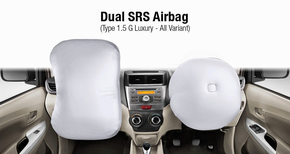 Dual SRS Airbag Avanza