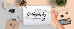 Calligraphy Fonts Bundle  Price: $29.00
