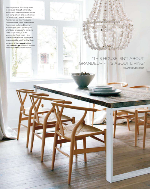 Inspiration a few clippings poppytalk for Casual dining chandeliers