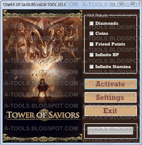 TOWER OF SAVIORS HACKS | A-HACK TOOL