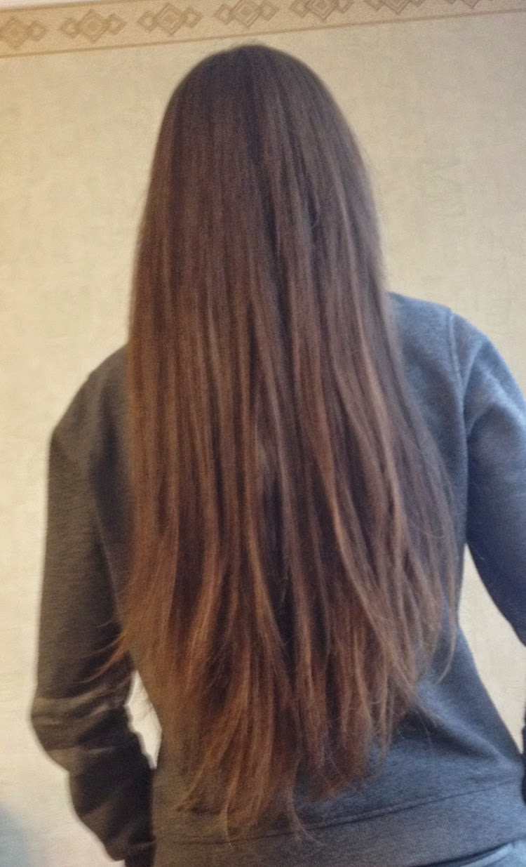 zabieg laminowania włosów przed i po