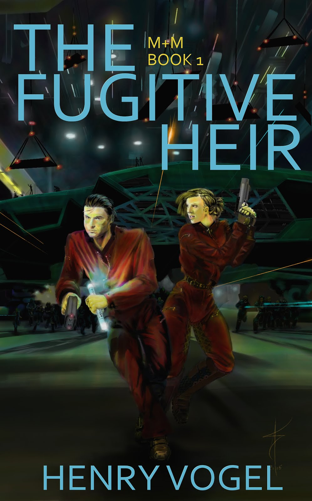 The Fugitive Heir - my latest novel