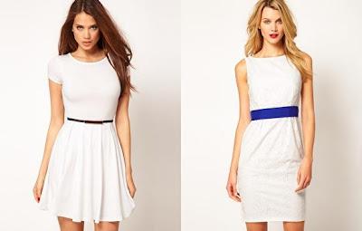 vestidos blancos de asos para fiestas