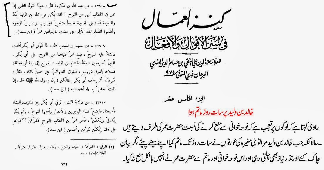 Matam ( Self - beating ) of Prophet (SAWA) and his Companions | Imam ...