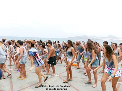 fotos día la juventud 2015 playa las canteras playa alcaravaneras