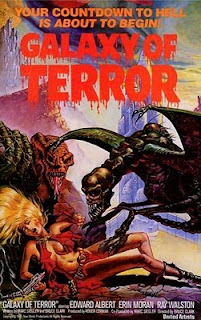 Filmes segregados: A Galaxia do Terror ( Galaxy of Terror 1981)