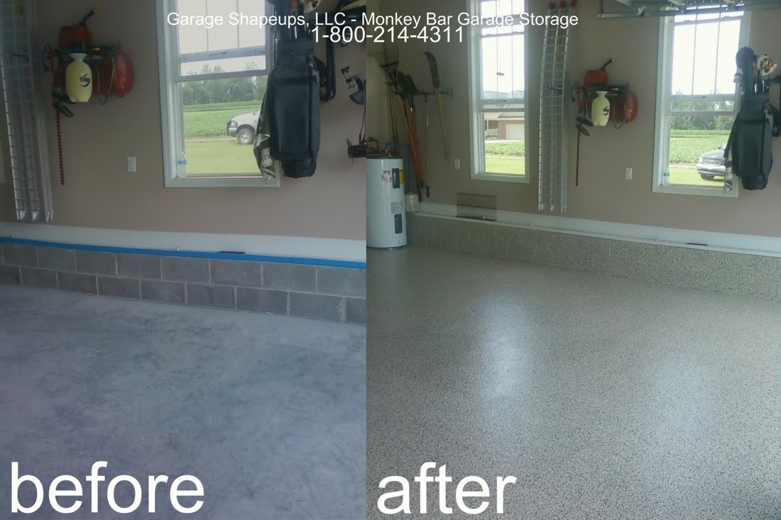 Chattanooga garage flooring choices and options for How to clean garage floor