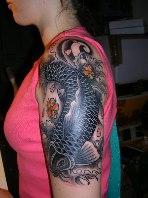 Japanese Tattoo Koi