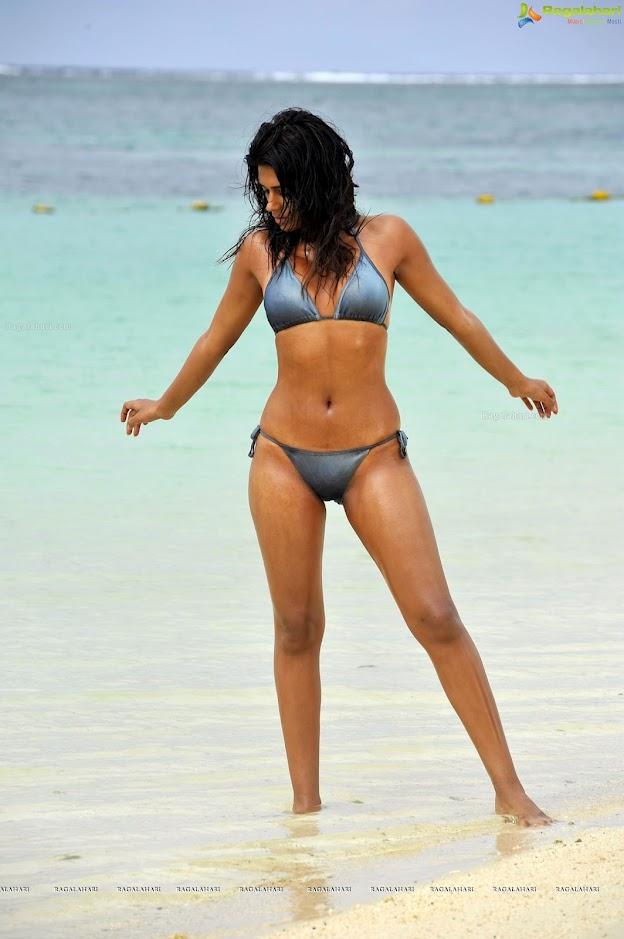 Shraddha das hot bikini remarkable