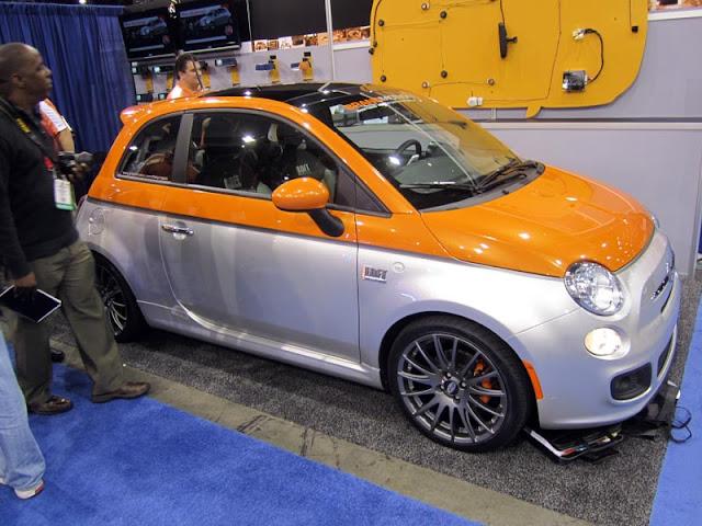 two-tone Fiat 500