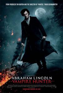 Poster original de Abrahan Lincoln: cazador de vampiros