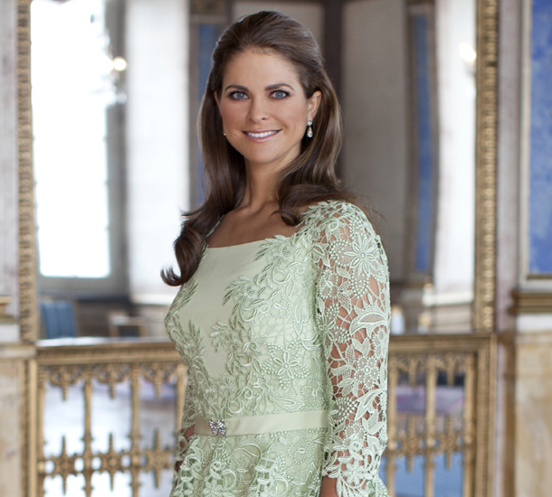 ROYAL COUTURE.....Princess Madeleine of Sweden and fiancé Christopher ...