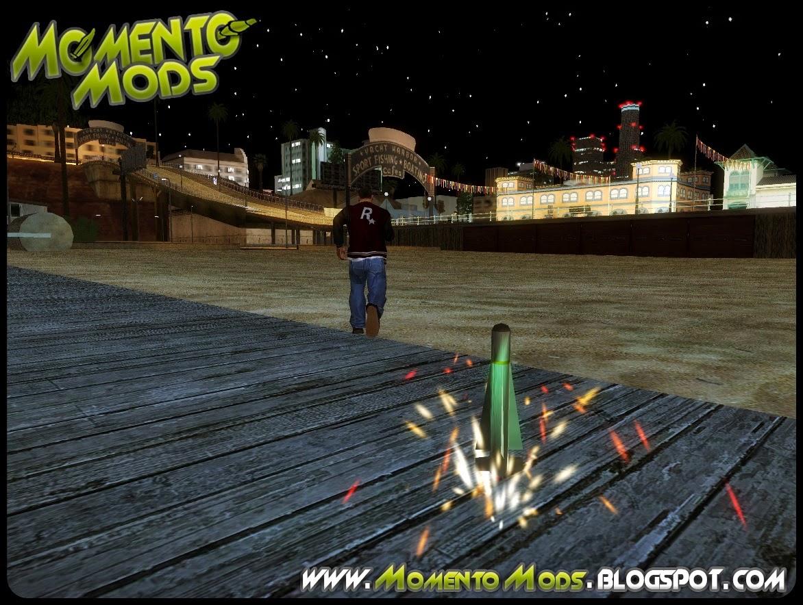 GTA SA - Mod Soltar Fogos De Artificio