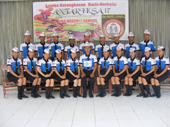 "Paskibra SMK Pertiwi "" Merah"""