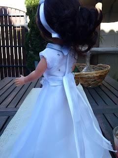 Vestido muñecas comunion